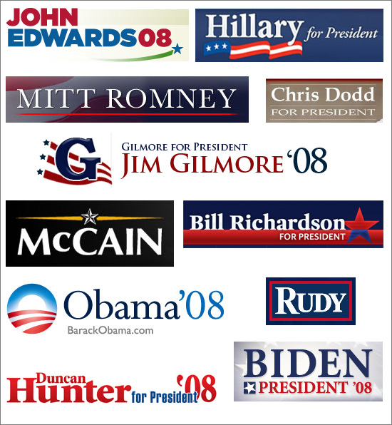 Presidential Campaign Logos