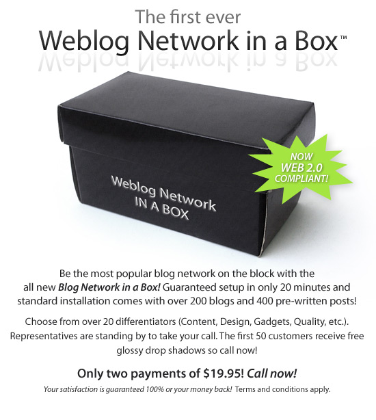 weblog network box from BrainFuel