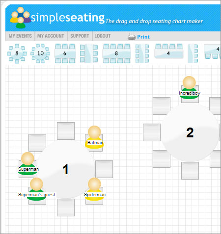 simple seating